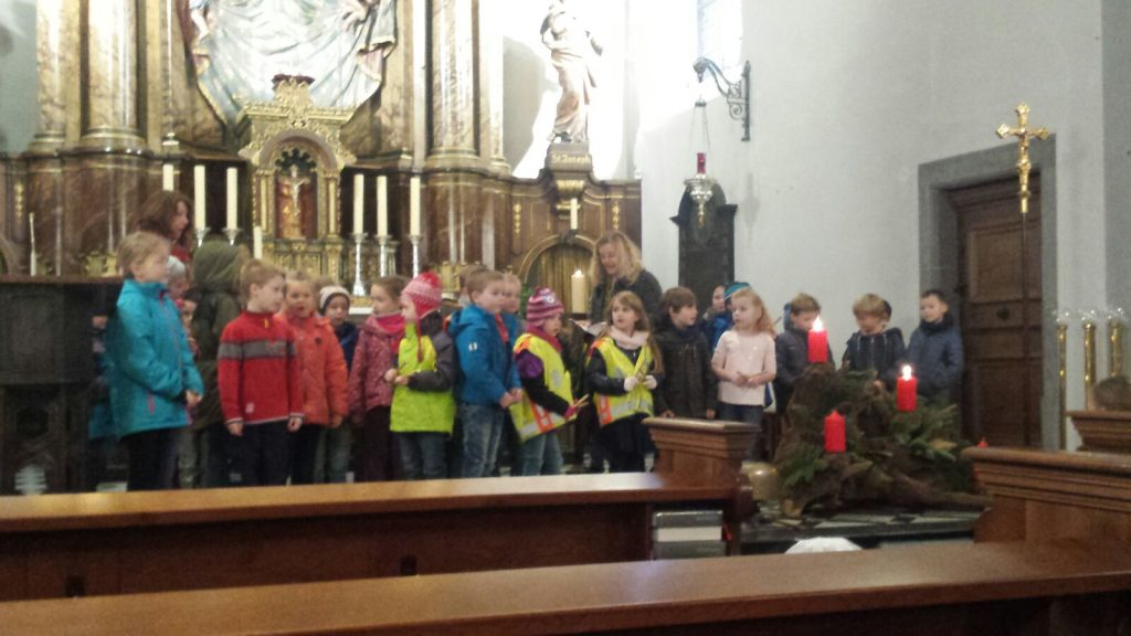Nikolaustag in der Kirche