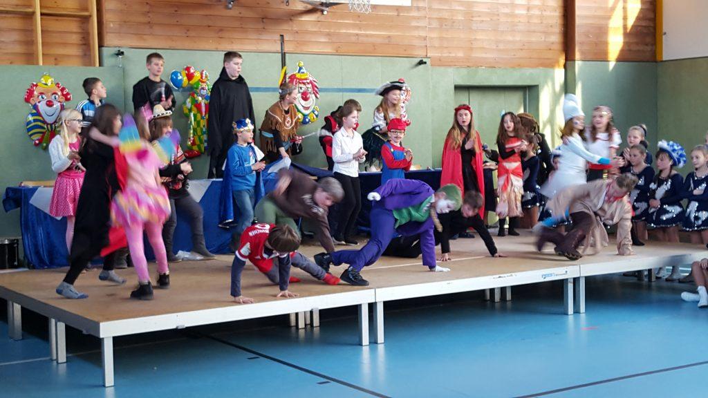 Karneval an der Salvator-Schule