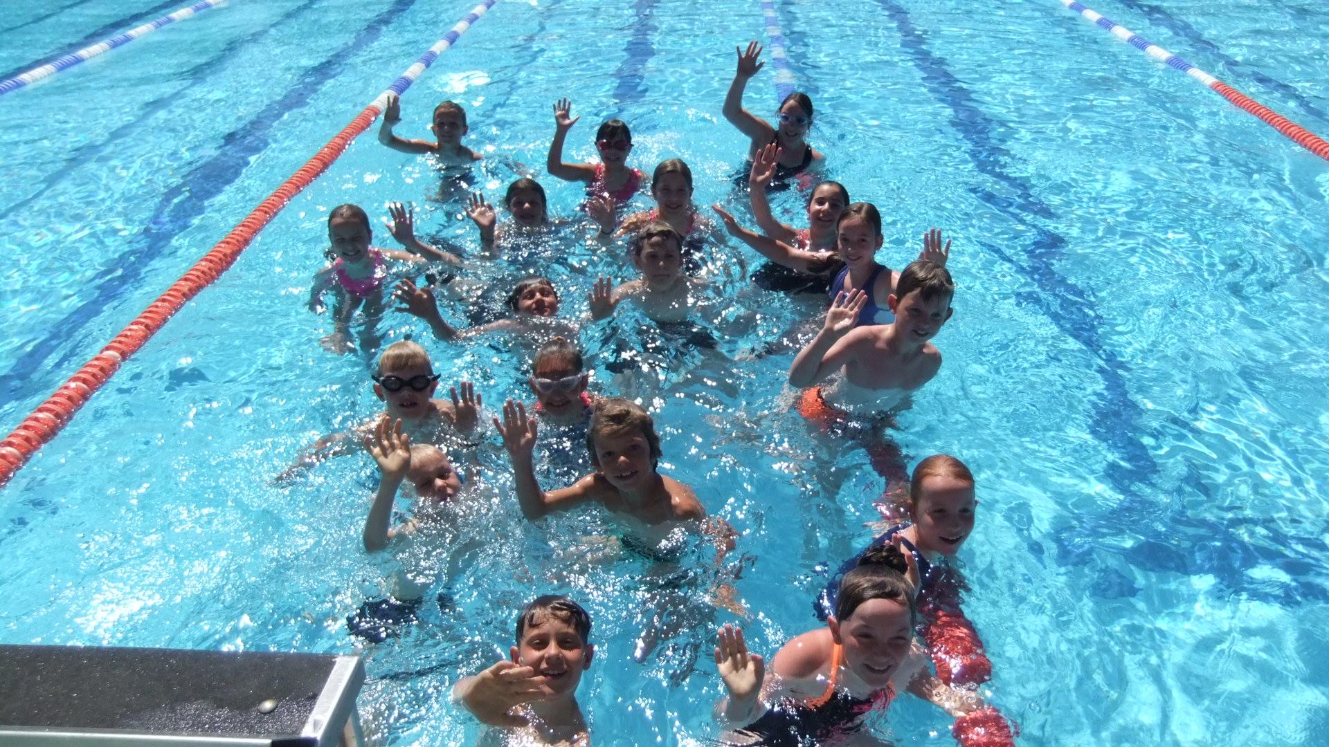 Sieger im 24-Stunden-Schwimmen